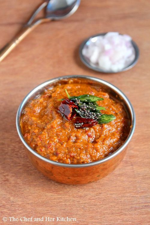 Nellikai Chutney | Usirikaya Pacchadi with Red Chillies | Gooseberry Chutney