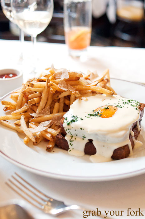 croque madame at bouchon bistro beverly hills la los angeles