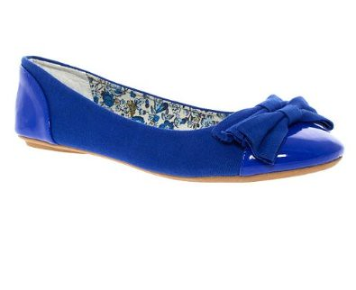Barratts blue flats