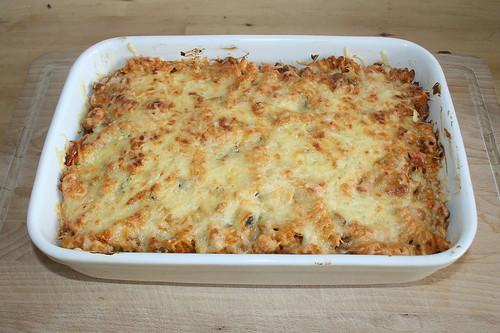 45 - Griechischer Nudelauflauf - Fertig gebacken / Pasta bake greek style - Finished baking