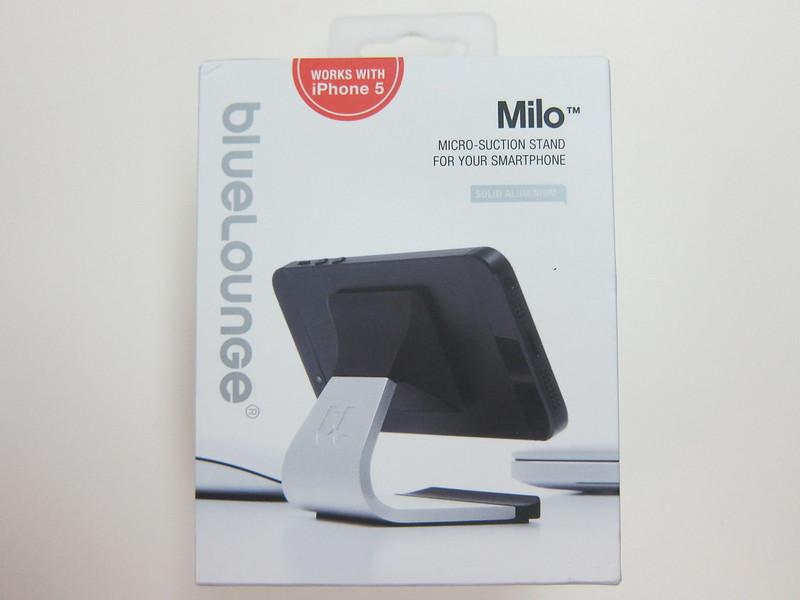 Bluelounge Milo (Aluminium) - Box Front