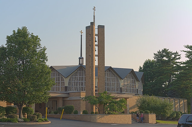 Saint Clement of Rome Church, in Des Peres, Missouri, USA - exterior (reduced size)