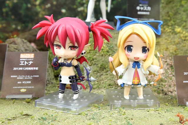 Nendoroid Etna and Flonne