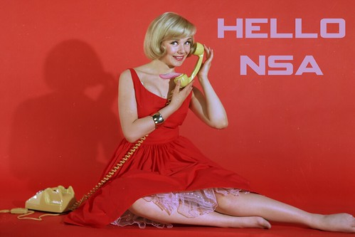 HELLO NSA by WilliamBanzai7/Colonel Flick