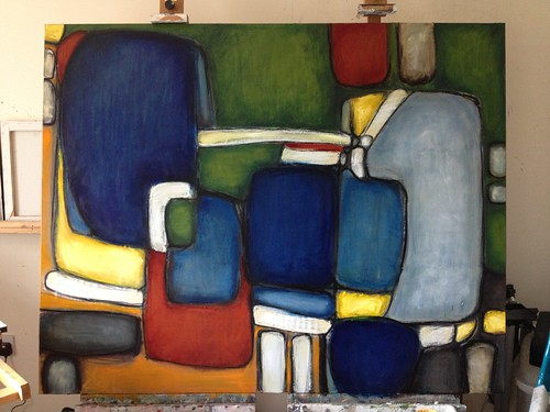 Just finished: Chapel - 2013 Oil on 4' x 5' canvas