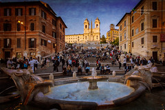 Have an adventurous climbing plan in the Spanish steps of Rome - Things to do in Rome