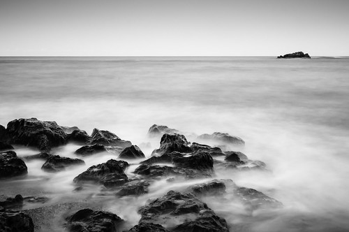 longexposure seascape beach rocks australia places things coastal newsouthwales coffsharbour korora
