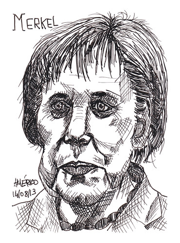 (42) Angela Merkel, Chancellor of Germany by americoneves