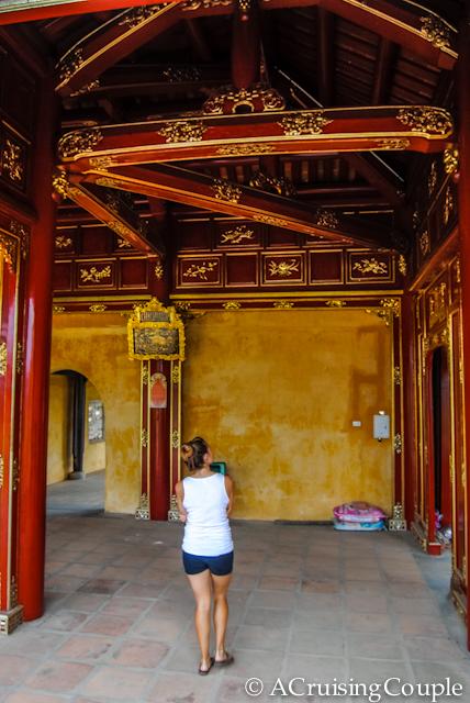 Citadel Hue Vietnam Rebuilt
