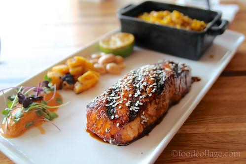 Salmon at Pura Vida