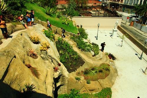 Jardim suspenso do Valongo