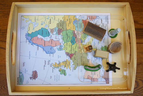 Landmarks of Europe Tray