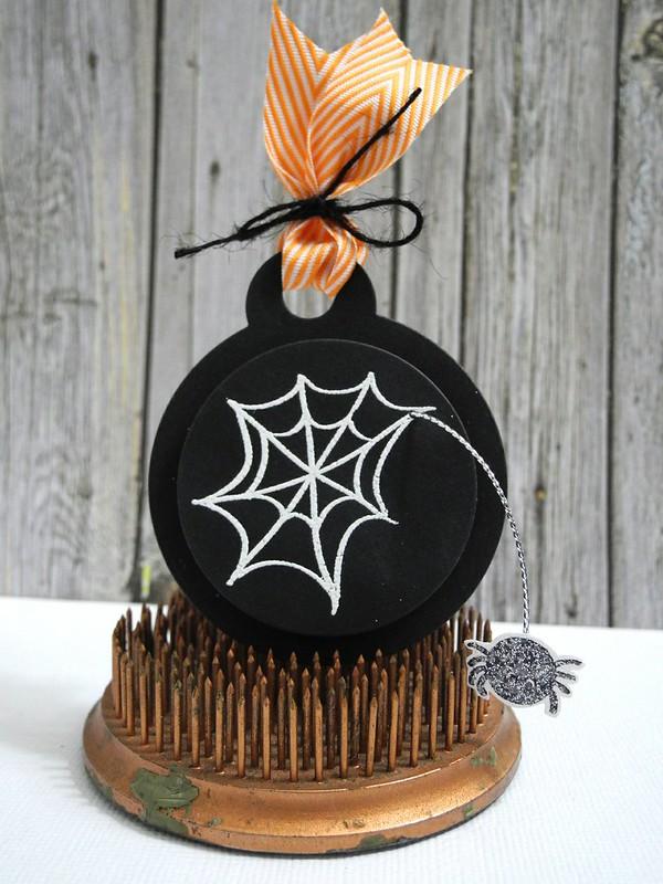 Sparkling Spider Tag