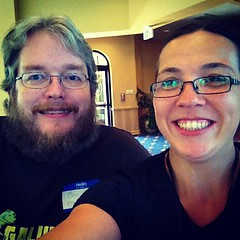 It's me and @qualityfrog #starwest