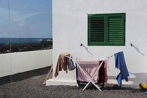 clothesline in El Golfo