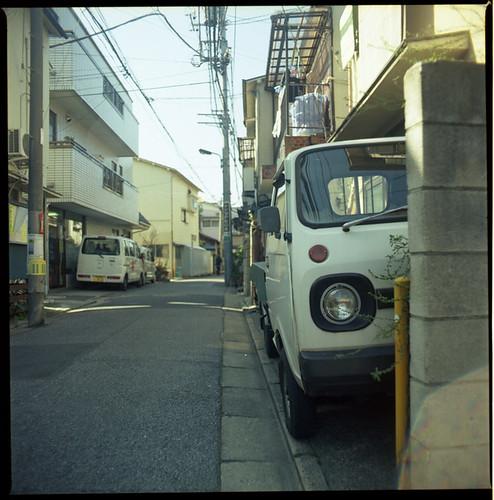 Kita-senju. by tokyo scooter stuff