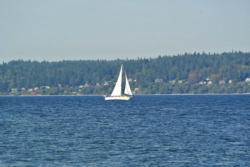 An autumn ride around the Sound - Sailing around Bainbridge