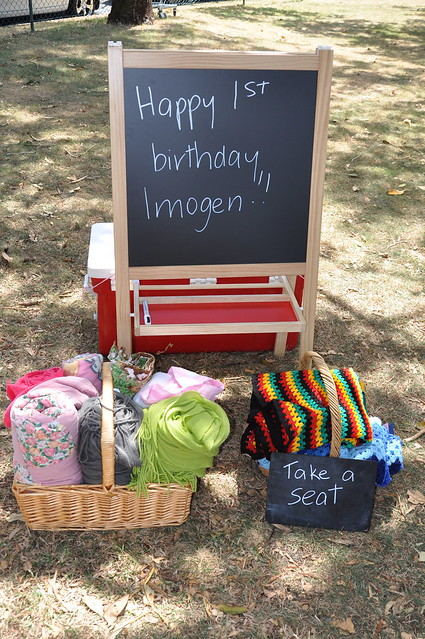 Imogen's First Birthday