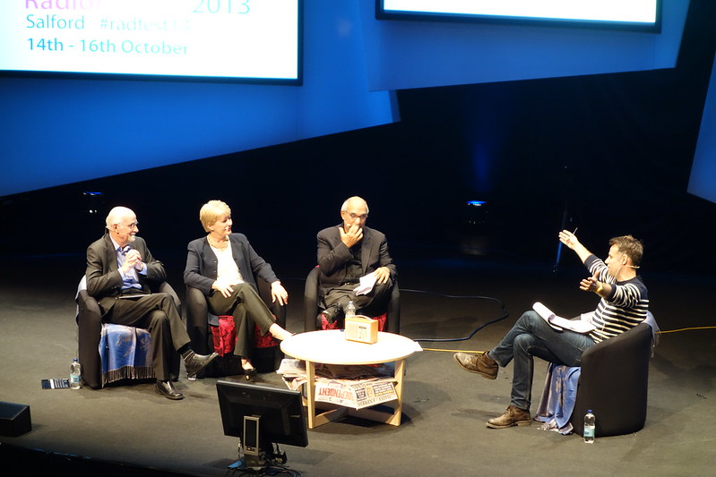 Richard Bacon and Trust in the BBC Panel