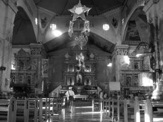 Bohol - Baclayon church inside