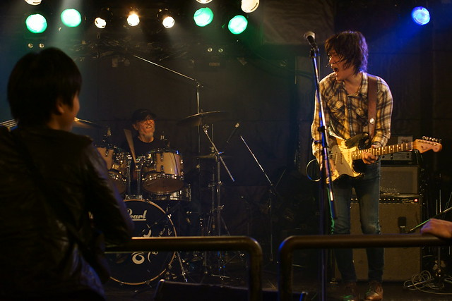 原マサシ Blues Rock Trio live at Outbreak, Tokyo, 23 Oct 2013. 339