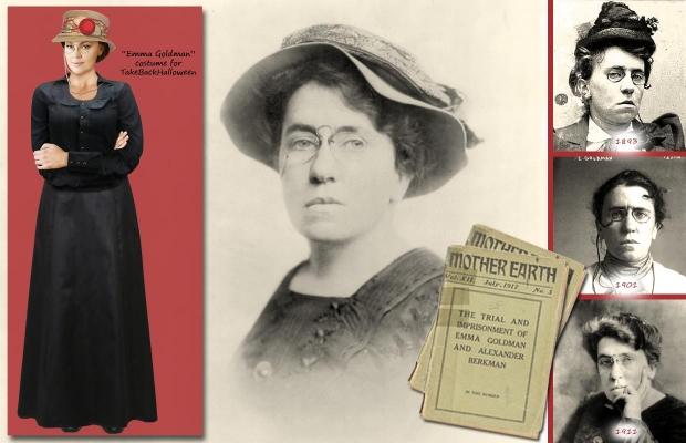 Emma Goldman costume