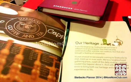 Starbucks Planner Design