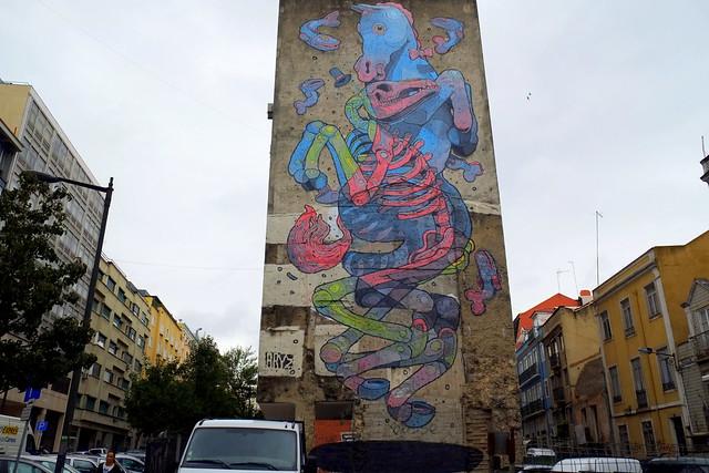 mural | aryz | lisbon 2013