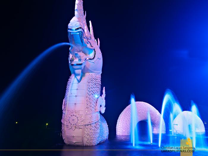 White Dragon at Phuket's Siam Niramit