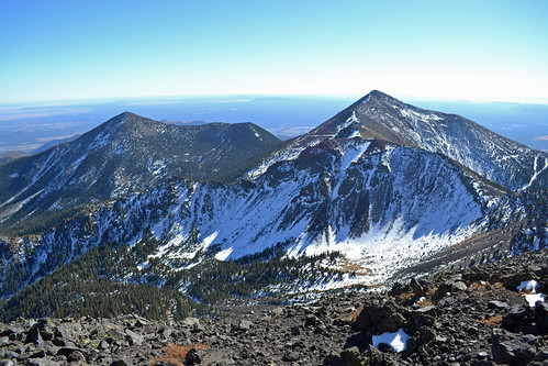 Agassiz Peak from Mt. Humphreys