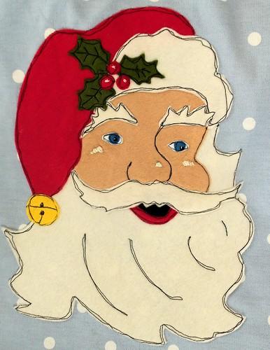 Christmas Santa Apron