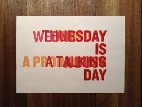 Day 48 - Thursday is a talking day