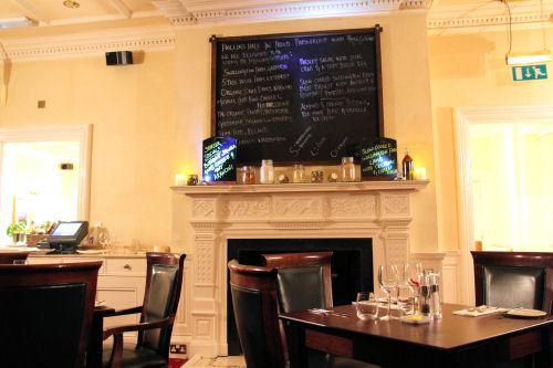 Hollins Hall Restaurant Menu