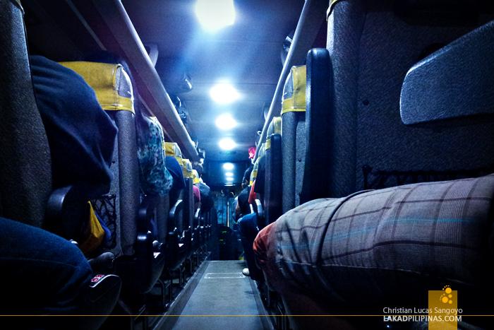 Victory Liner En Route to Baguio City