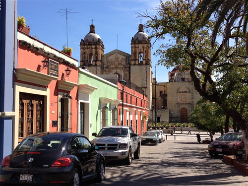 Oaxaca Streetscape and Santo Domingo