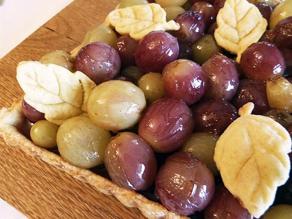 tarte au raisin