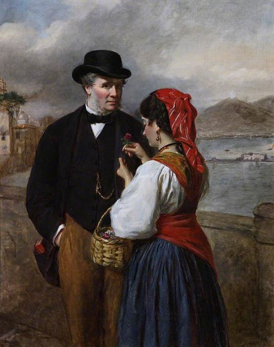 An Adventure in Naples, WP Frith, 1875