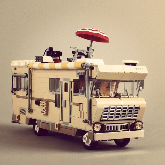 "1973 Winnebago Cheftain ""Walking Dead""."