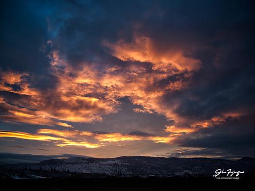 sunset sky canada clouds landscape britishcolumbia kamloops loganlake