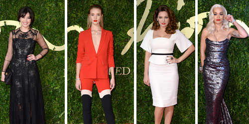 British Fashion Awards 2013 Red Carpet