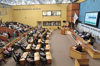 Visão geral da Câmara durante o encontro