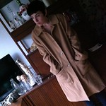 DKNY camel coat from tag sale in Great Neck