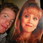 Me and Shelley Long