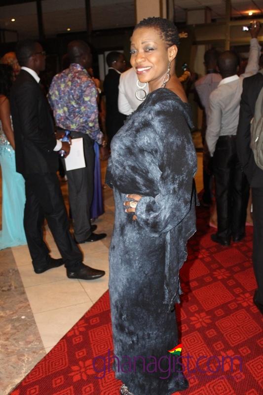Akofa Asiedu Adjeani at Ghana Movie Awards