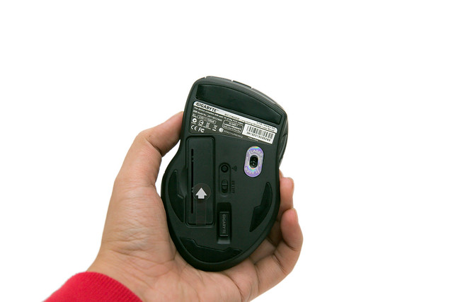 技嘉 ECO 600 ECO600 長效電力無線雷射滑鼠 @3C 達人廖阿輝