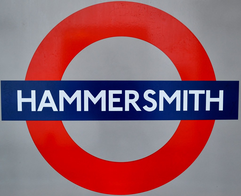 Hammersmith Tube Station Sign A Photo On Flickriver