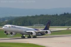 AIRBUS A340-600 THAI AIRWAYS   ZURICH   ZRH-LSZH