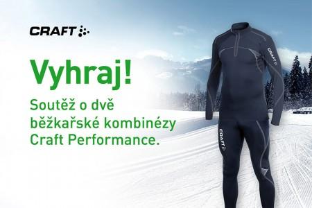 Soutěž o běžkařské kombinézy Craft