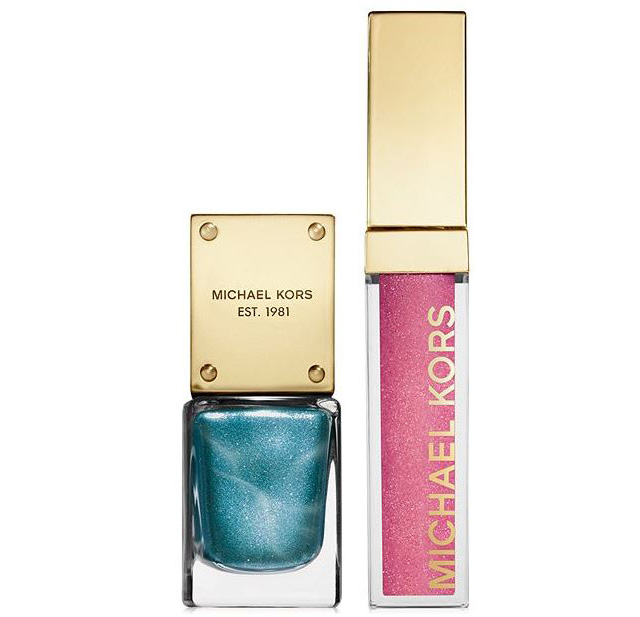 Michael Kors Sexy Collection Lip Luster & Nail Gift Set