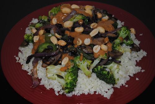 Cauliflower Rice Peanut Stir Fry (1)